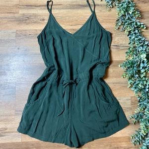 French Connection | Olive Strappy Romper